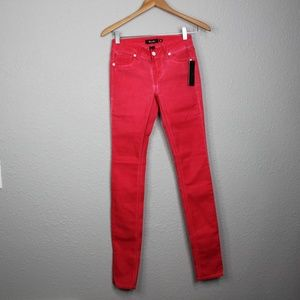 Miss Me Cherry Pink Skinny Jeans Size 26 NWT